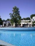 Mauvais Blumau _pool de Rogner Photos stock