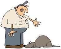 Mauvais crabot illustration de vecteur