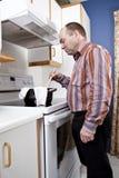 Mauvais cuisinier Photographie stock libre de droits