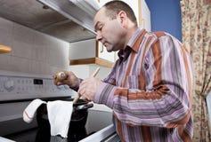 Mauvais cuisinier Photos stock