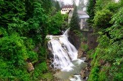 Mauvais Gastein - Alpes autrichiens Images libres de droits