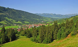Mauvais-Hindelang, Allgaeu, Allemagne Photo stock