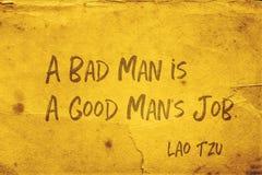 Mauvais homme Lao Tzu photo stock