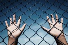 Mauvais traitement à enfant Images libres de droits