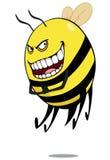 Mauvaise abeille illustration de vecteur