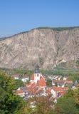 Mauvaise chope en grès-Ebernburg de Muenster AM, Allemagne photographie stock