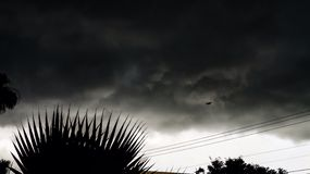 Mauvaise tempête Photos libres de droits
