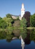 Mauvaise verticale de Schloss de Homburg photographie stock