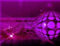 Mauve background Stock Image