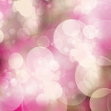 Mauve bokeh background. Abstract mauve  bokeh background with bubbles and flares Stock Photos
