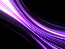 Mauve design background. Mauve lines isolated on black background Stock Photos