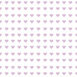 Mauve hearts seamless background Stock Photography