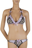 Mauve lingerie Royalty Free Stock Photo