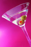 Mauve Martini Stock Photo