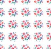 Mauve rose de bleuets de wildflowers colorés lumineux magnifiques de fines herbes floraux de ressort sophistiquée belle par offre Photo libre de droits