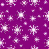 Mauve Seamless Christmas Royalty Free Stock Photos