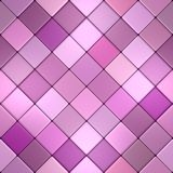 Mauve vintage mosaic Stock Photos