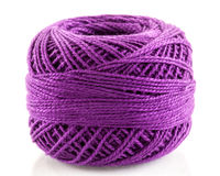 Mauve yarn Stock Photos
