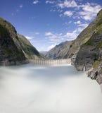 Mauvoisin Dam, Bagnes, Valais, Switzerland  Stock Photos