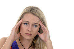 Maux de tête Image stock