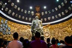 Mauzoleum i rzeźba Eloy Alfaro wewnątrz Zdjęcia Stock
