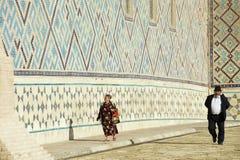 Mauzoleum Khoja Ahmed Yasavi w Turkistan, Kazachstan Zdjęcia Royalty Free
