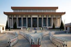 Mauzoleum Mao Zedong, plac tiananmen, Pekin, Chiny Fotografia Royalty Free