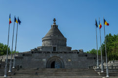 Mauzoleum Marasesti w Vrancea okręgu administracyjnym, Rumunia Obrazy Royalty Free