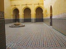Mauzoleum Meknes Fotografia Royalty Free