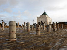 Mauzoleum Mohammed V w Rabat zdjęcia stock