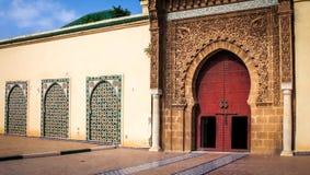 Mauzoleum Moulay Ismail, Meknes -, Maroko zdjęcie royalty free