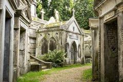 Mauzoleum w cmentarzu - 6 Fotografia Royalty Free