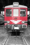 MAV Raba Bamot 701 diesel railbus Royalty Free Stock Images