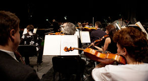 The MAV Symphonic Orchestra performs Stock Images
