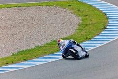 Maverick Viñales pilot of 125cc  of the MotoGP Royalty Free Stock Photos