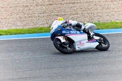 Maverick Viñales πειραματικό 125cc του MotoGP Στοκ φωτογραφία με δικαίωμα ελεύθερης χρήσης