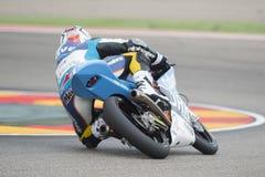 Maverick Viñales moto3 Arkivfoton