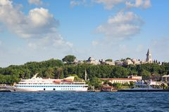 Mavi Marmara in Istanbul port Stock Images
