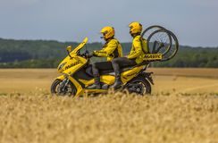 Mavic Bike - Tour de France 2017 stock photography