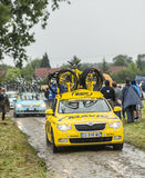 Mavic Car on a Muddy Road Royalty Free Stock Images