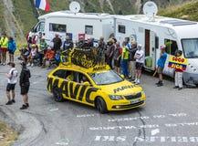 The Mavic Car - Tour de France 2015 Royalty Free Stock Photos