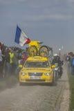 Mavic samochód Paryski Roubaix 2014 Zdjęcia Royalty Free