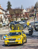 Mavic Yellow Car Royalty Free Stock Photo