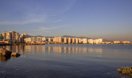 Mavisehir - Izmir Skyline before Sunset Stock Photography