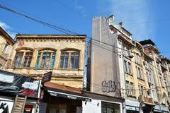 Mavrogheni街,布加勒斯特 免版税库存照片