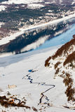 mavrovo της Μακεδονίας λιμνών Στοκ εικόνες με δικαίωμα ελεύθερης χρήσης