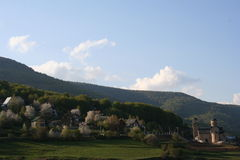 Mavrovo Village Royalty Free Stock Photography