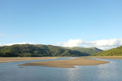Mawddach Estuary. Royalty Free Stock Photo