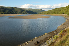 Mawddach Estuary. Royalty Free Stock Image
