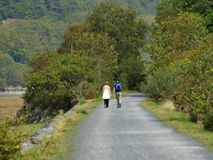 Mawddach trail wales Royalty Free Stock Image